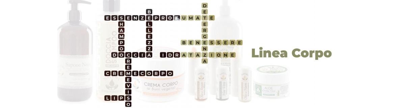 Linea e Trattamento Corpo: saponi liquidi, shampoo e burro cacao | Saponeria Artigiana